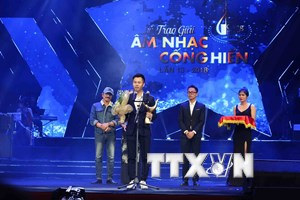 [Photo] Toàn cảnh Lễ trao Giải thưởng âm nhạc Cống hiến 2018