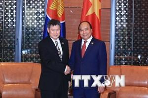 [Photo] Thủ tướng tiếp các quan chức cấp cao dự Hội nghị GMS 6-CLV 10