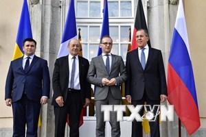 Nga: Nhóm Bộ Tứ Normandy nên nhóm họp sau khi thực thi những hiệp định
