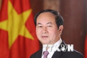Chủ tịch Trần Đại Quang lên đường thăm cấp Nhà nước Ethiopia và Ai Cập