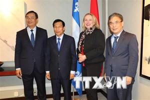 Thúc đẩy hợp tác giữa Việt Nam với tỉnh bang Quebec của Canada