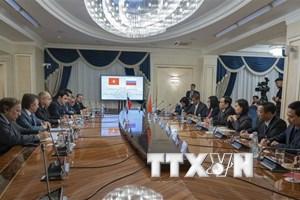 Chủ tịch MTTQ Việt Nam hội đàm Phó Chủ tịch Hội đồng Liên bang Nga
