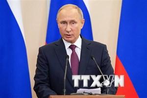 """Tổng thống Putin ký nghị định về tổ chức """"Năm nước Nga tại Việt Nam"""""""