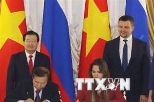 Việt Nam chào đón sự hợp tác đầu tư của các doanh nghiệp Nga
