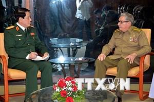 Việt Nam và Cuba thúc đẩy mối quan hệ hữu nghị truyền thống
