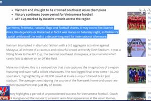 [Video] FIFA nói về kỷ nguyên chưa từng có của bóng đá Việt Nam