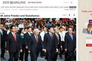 Truyền thông Đức, Mexico đưa tin về kỷ niệm Giải phóng miền Nam