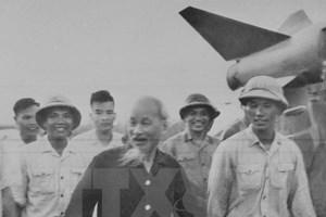 Lời Bác Hồ dạy là động lực phấn đấu cả đời của người lính pháo binh