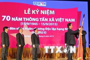 Thủ tướng: TTXVN tiếp tục tiên phong tuyên truyền thông tin chuẩn xác
