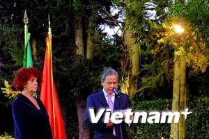 Việt Nam là ưu tiên phát triển của Italy tại khu vực Đông Nam Á