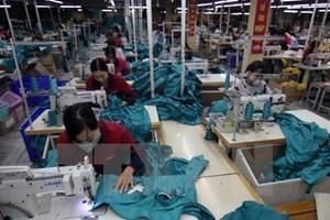 Nhiều doanh nghiệp dệt may đã có đơn hàng đến hết quý 2