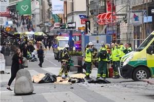 Thụy Điển thẩm vấn 7 người liên quan vụ khủng bố bằng xe tải