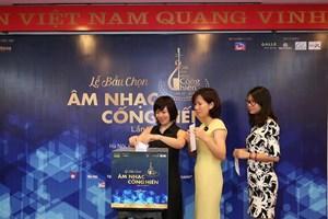 [Photo] Lễ bầu chọn giải Âm nhạc Cống hiến lần thứ 12 năm 2017