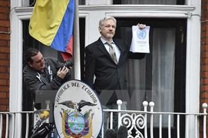 Ecuador kêu gọi mở lối an toàn cho nhà sáng lập WikiLeaks rời Anh