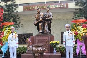 Khánh thành Đài Tưởng niệm Biệt động Thành đánh Đài Phát thanh Sài Gòn