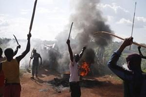 Tấn công ở CH Trung Phi, 6 nhân viên cứu trợ nhân đạo thiệt mạng