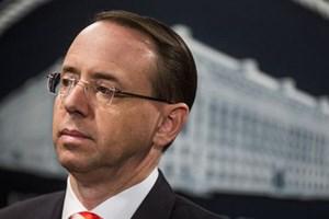 Mỹ: Thứ trưởng Tư pháp Rod Rosenstein có thể bị mất chức