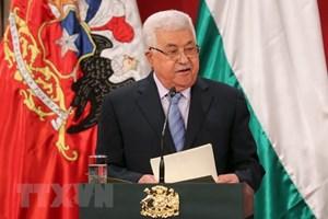 Palestine khẳng định duy trì mục tiêu xây dựng hòa bình với Israel