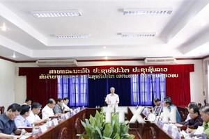 Tăng hợp tác giữa tỉnh Vientiane với các địa phương Việt Nam