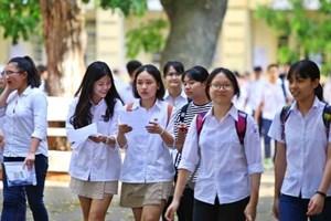 Kỳ thi vào lớp 10: Các trường giúp học sinh làm quen phương án mới