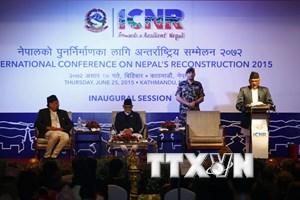 Nepal tổ chức hội nghị các nhà tài trợ kêu gọi tái thiết đất nước