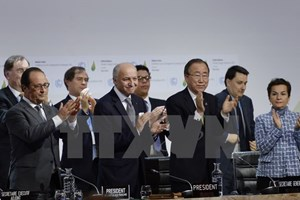 [Infographics] Phản ứng của quốc tế về thỏa thuận biến đổi khí hậu