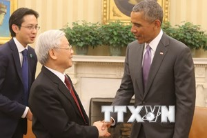 Lãnh đạo các đảng, các nước chúc mừng Tổng Bí thư