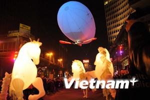 Thủ đô Brussels của Bỉ tưng bừng chào đón Năm mới 2015