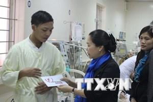 Quảng Bình: Hỗ trợ gia đình các nạn nhân vụ sập giàn giáo