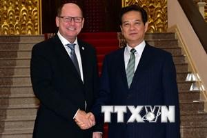 Chủ tịch Quốc hội Thụy Điển kinh ngạc trước sức vươn của Việt Nam