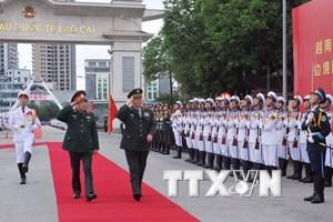 Bộ trưởng Quốc phòng Việt Nam-Trung Quốc hội đàm ở biên giới