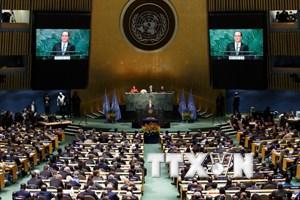 Khai mạc lễ ký kết Hiệp định Paris về biến đổi khí hậu