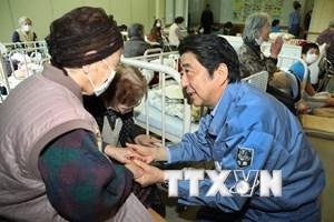 Nhật Bản bổ sung ngân sách tái thiết khu vực bị động đất