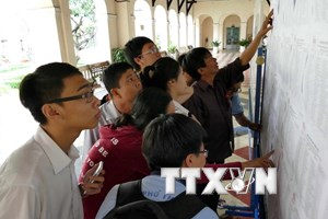 Các trường đại học tại TP.HCM đồng loạt công bố điểm chuẩn