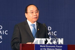 Phát biểu khai mạc của Thủ tướng tại Diễn đàn WEF về khu vực Mekong