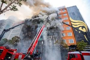 Vụ cháy quán karaoke 13 người tử vong: Khởi tố bị can 3 đối tượng