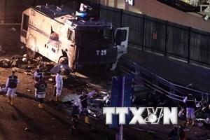 Thổ Nhĩ Kỳ: Đánh bom ở Istanbul làm 15 người thiệt mạng