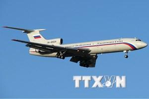 Bộ trưởng Giao thông Nga nêu giả thuyết tai nạn máy bay Tu-154