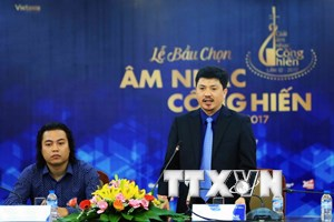 Gần 100 phóng viên bầu chọn Giải thưởng Âm nhạc Cống hiến 2017
