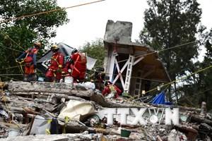 Ít nhất 12 người thương vong trong 2 trận động đất mới tại Mexico