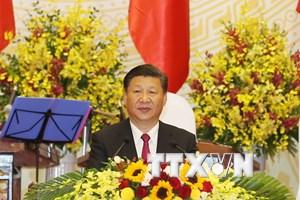 Lời đáp từ của Tổng Bí thư Trung Quốc Tập Cận Bình tại buổi chiêu đãi