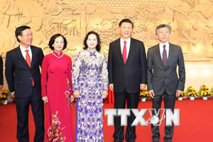 Trưởng Ban Dân vận TW tiếp đại biểu dự Diễn đàn Nhân dân Việt-Trung