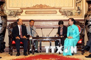 TP.HCM nỗ lực gắn kết với Hội đồng Nhân dân các địa phương Lào