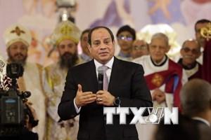 Tổng thống Ai Cập Abdel Fattah El-Sisi được ủng hộ tái nhiệm