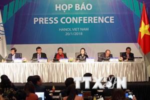 Họp báo về kết quả Hội nghị Diễn đàn Nghị viện châu Á-TBD lần thứ 26