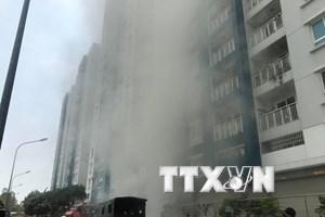Từ vụ cháy kinh hoàng chung cư Carina Plaza đến nỗi lo hỏa hoạn