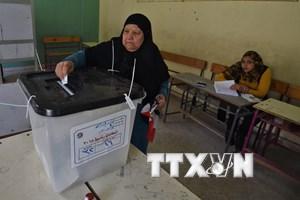 Bầu cử tổng thống tại Ai Cập kéo dài thêm 1 giờ so với dự kiến
