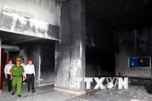 Thành phố Hồ Chí Minh: Sẽ khởi tố bị can vụ cháy tại chung cư Carina