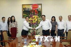 Lời cảm ơn của TTXVN nhân Ngày Báo chí Cách mạng