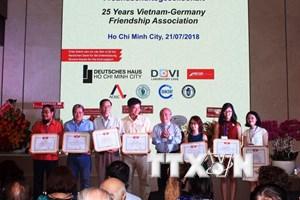 Tăng cường sự hiểu biết, tình hữu nghị giữa nhân dân Việt Nam-Đức